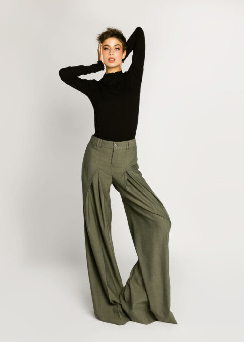 Oversized Pants Gray